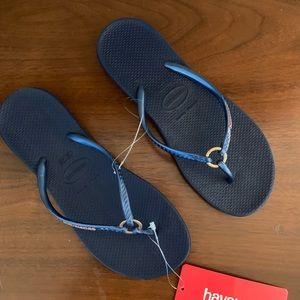 Havianas flip flop Sandals NWT